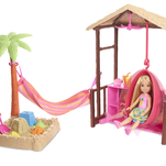 Barbie travel-Set Chelsea In Vacant