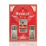 Gin Wembley London Dry Gin 0.7 l + 2 pahare